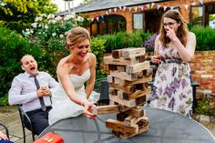 Image courtesy of Aaron Collett. Dodmoor House Giant Jenga available all year round in the courtyard! Giant Jenga, All Year Round, On Your Wedding Day, House, Image, Haus, Homes, Houses