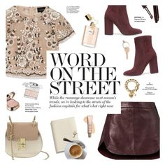 """""""Word on the street"""" by honestlyjovana ❤ liked on Polyvore featuring Needle & Thread, Michelle Mason, Gianvito Rossi, Dolce&Gabbana, Chloé, Coach, Haute Hippie, Maison Margiela and Juicy Couture"""