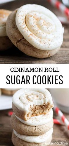 This recipe for cinnamon roll sugar cookies is simple to make and will have you looking like a total baking rock star. You won't believe how delicious these cookies are! heart Soft Cinnamon Roll Sugar Cookies - I Heart Naptime Cinnamon Sugar Cookies, Chocolate Chip Shortbread Cookies, Chocolate Marshmallow Cookies, Toffee Cookies, Chewy Sugar Cookies, Rolled Sugar Cookies, Spice Cookies, Sugar Cookies Recipe, Yummy Cookies