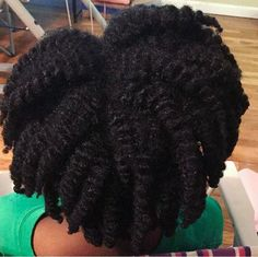 look at this juicy twist out! NATURAL HAIR CRUSH