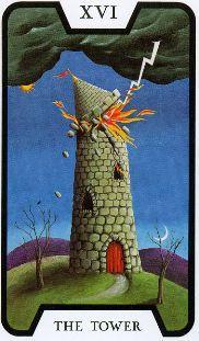 Tarot de las brujas de Fergus Hall (1973) creada para la película de James Bond Vive y deja morir (1973) También conocida como La baraja de Tarot de James Bond 007