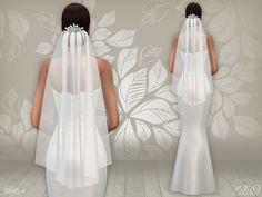 Lana CC Finds - Wedding dress 02 & Veil by BEO