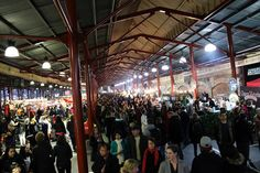 Clear your Wednesday evenings, because the Night Market is back at Queen Vic Markets and it's a must-experience event in Melbourne. Melbourne Winter, Melbourne Girl, Melbourne Victoria, Victoria Australia, Melbourne Markets, Melbourne Travel, Beautiful Places In The World, Amazing Places, Travel Plan