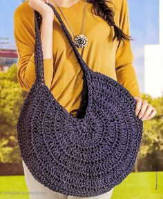 Bolsa Crochetar - / Purse to Crocheting - 1