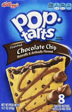 I got chocolate chip! Which pop tart are you?