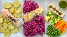 3 IDEE CON SALMONE: CON PATATE, CON VERDURE, AL LIMONE 3, Cabbage, Vegetables, Frame, Food, Home, Picture Frame, Essen, Cabbages