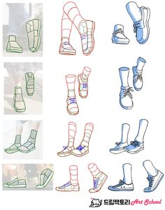 a fashionable example of a style pinsight from an informed pinner Drawing Reference Poses, Drawing Skills, Drawing Techniques, Drawing Tips, Manga Drawing Tutorials, Hand Reference, Feet Drawing, Drawing Faces, Body Drawing Tutorial