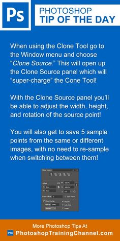 Photoshop tip of the day - Clone tool. Photoshop tips. Nordic360.