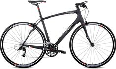 An all-carbon urban-road bike with a straight bar? Sold!