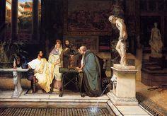 Ценители римского искусства. Лоуренс Альма-Тадема