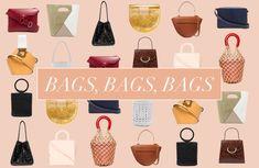 Kolumne: It-Bags! Warum wir auf teure Luxushandtaschen verzichten und kleinere Labels bevorzugen - Journelles Bucket Bag, Bag Storage, Polyvore, Bags, Beautiful Handbags, Handbags, Bag, Totes, Hand Bags