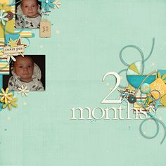 Borderline by Little Green Frog Designs (http://scraporchard.com/market/Borderline-Digital-Scrapbook-Template.html) - #lgfd LGFD_Borderline Baby By Kristen Cronin Barrow