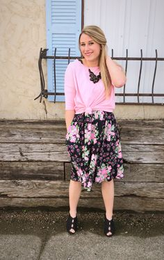 When you need a go to outfit for spring, why not try an Irma over your Amelia Dress?! www.shopbrittanyhall.com
