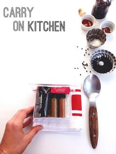Traveling? @joythebaker has a brilliant idea to make sure you can cook away from your kitchen.