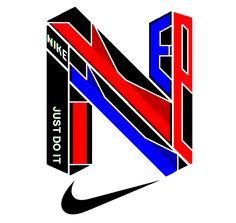 Nike, original, swoosh, 2017,  logo, based, on cool, stuff.