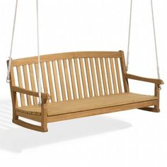 Shorea Wood Chadwick Outdoor Swing Bench 5 Feet for $462.70 #CozyDays #GlidersRockers #OutdoorFurniture