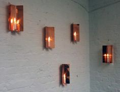 CCOI A Place to Gather: Copper candle holders by Jennifer Chan. London Design Week, Copper Candle Holders, Irish Design, Wine Display, Candle Sconces, Art Ideas, Wall Lights, Candles, Appliques