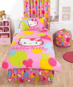 I haven't seen this bedding anywhere yet but Addyson would love it!