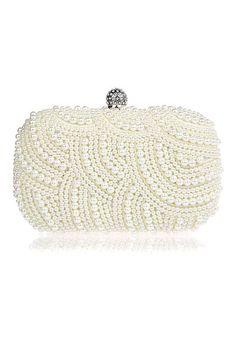 Glam Pearls Clutch