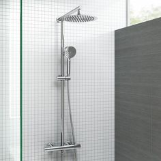 An exposed shower is a great choice for any bathroom! Choose from a great range of exposed thermostatic showers & exposed shower mixers.
