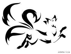 Kitsune or some fox emblem...