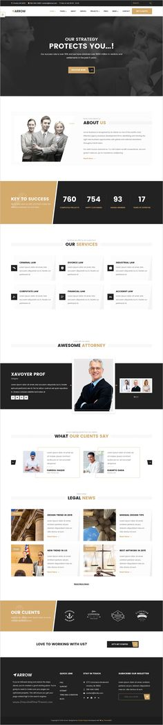 Arrow is an beautifully design onepage and multipage #Bootstrap HTML theme for #Lawyer #website with 9 stunning multipurpose homepage layouts download now➯ https://themeforest.net/item/arrow-multipurpose-responsive-html-template/17122123?ref=Datasata