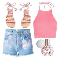 """""""Untitled #704"""" by justinbieber-zaikara ❤ liked on Polyvore featuring Forte Couture, Boohoo and Ancient Greek Sandals"""