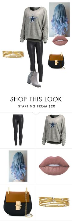 """Cowboys"" by lovableangeldoll ❤ liked on Polyvore featuring The Row, Lime Crime, Chloé and Alor"