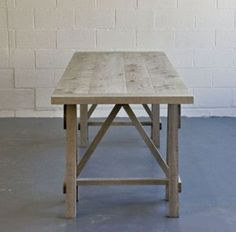 MALVINI 1 trestle table