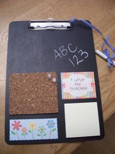 Teacher Clipboard by mygirls2 - Cards and Paper Crafts at Splitcoaststampers
