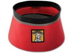 One of the 3rd Place Prizes for the Hiking With Your Dog Photo Contest - Ruffwear's Bivy Bowl