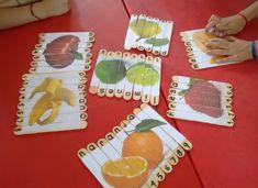 Aprendemos los nombres de nuestros compañeros de diferentes formas Reggio Emilia, Activities For Kids, Kindergarten, Preschool, Learning, Creative, Spelling, Puzzles, March