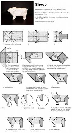 Hope you like the origami patterns! :) I and trying to put together an archive of origami diagrams for you and me to enjoy! Origami Mouse, Origami Yoda, Origami Star Box, Origami And Kirigami, Origami Dragon, Origami Fish, Origami Stars, Origami Flowers, Origami Paper