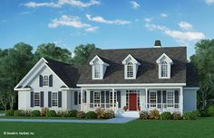 The Calhoun House Plan - Very workable. Combine powder bath with utility. Option for bonus over garage. CON: No walk in pantry