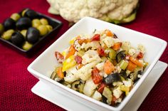 Muffaletta Salad by Melissa Joulwan - Whole30 Compliant | Barefoot Provisions