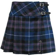 "Tartanista Honour Of Scotland Plaid 16.5"" Scottish Mini Kilt Skirt... (94 BRL) ❤ liked on Polyvore featuring skirts, bottoms, blue, plaid, tartan skirt, plaid wrap skirt, blue mini skirt, mini skirt and tartan mini skirts"