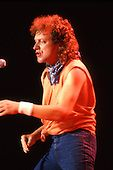 Foreigner - vocalist Lou Gramm performing live on the Agent Provocateur Tour at Wembley Arena in London UK - 15 Jun 1985.  Photo credit: George Chin/IconicPix