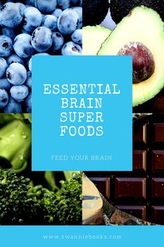 Have you ever wondered if there are special foods that we can eat or feed our children to help with brain power? Here are 6 great examples of how you can boost your brain. Your Brain, Superfoods, Blueberry, Essentials, Fruit, Eat, Books, Livros, Berry