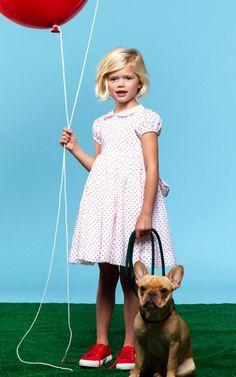 Cotton Rachel Dress by Baby CZ for Preorder on Moda Operandi
