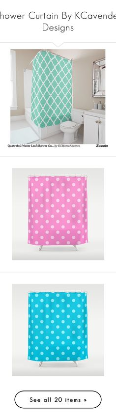"""""""Shower Curtain By KCavender Designs"""" by kelly-cavender ❤ liked on Polyvore…"""