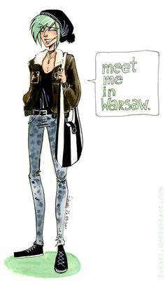 meet me in Warsaw by Fukari.deviantart.com on @DeviantArt