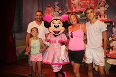Disneyworld met Mini Mouse