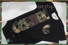 Hey, I found this really awesome Etsy listing at http://www.etsy.com/listing/162028535/camo-baby-boy-newborn-bodysuit