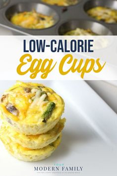 These Low-Calorie Egg Cups are a great way to start off your day (or your kids' day) with a nutritious and low-calorie breakfast option!