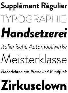 Brandon Grotesque (Typefamily) by HVD Fonts, via Behance