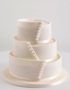 Button Assorted Wedding Cake   M&S