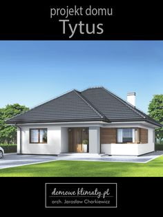 Projekt domu Tytus The price reach of the Apartment was amazing. Someone should not rush apartment s Model House Plan, House Plans, House Front, My House, Bangkok, Bungalow House Design, Modern Exterior, Beautiful Wall, Home Fashion