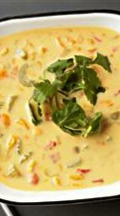 Crockpot Vegetable Cheese Soup - could use any veggies or cheeses. I'd use chicken broth, Velveeta and cheddar, sliced celery, onions, grated carrots (not chopped), frozen corn (not creamed), red potatoes, half and half, Maybe a little Creole seasoning.