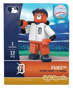 Detroit Tigers Mascot Limited Edition OYO Minifigure. Wally The Green  Monster Boston Red Sox ... 2b65f375528
