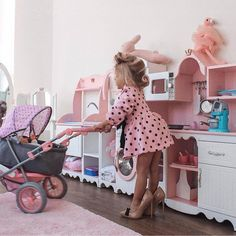 I remember waking up to this exact scene.lol💗little girls always imitating their mothers💗 Baby Girl Fashion, Toddler Fashion, Kids Fashion, Cute Baby Girl, Baby Love, Baby Pictures, Baby Photos, Toddler Girl, Baby Kids
